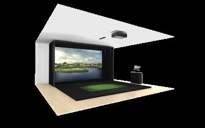 Benefits of Living In a 55+ Community: Golf Simulator