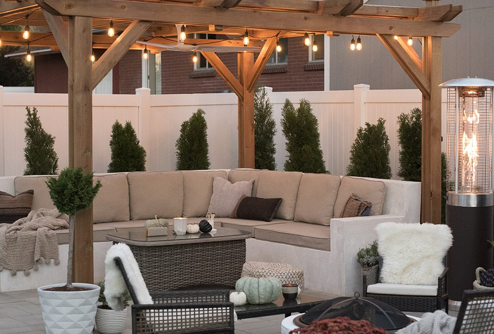 How to Enjoy Your Outdoor Living Space All Year